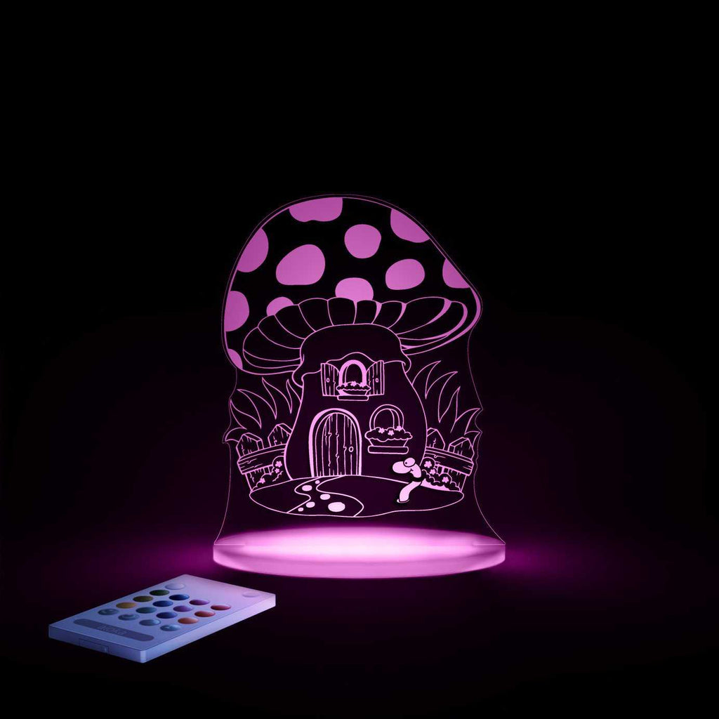 Aloka Toadstool night light - Peach Perfect