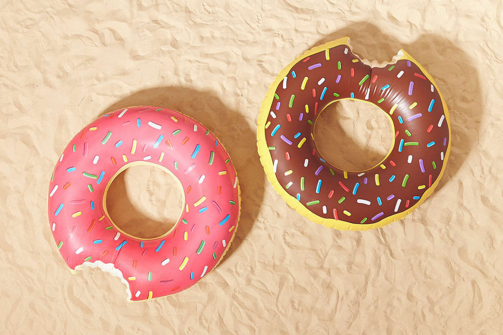 Floating Donuts