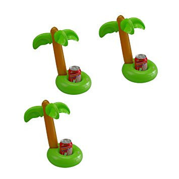 Palm Tree Floating Coasters
