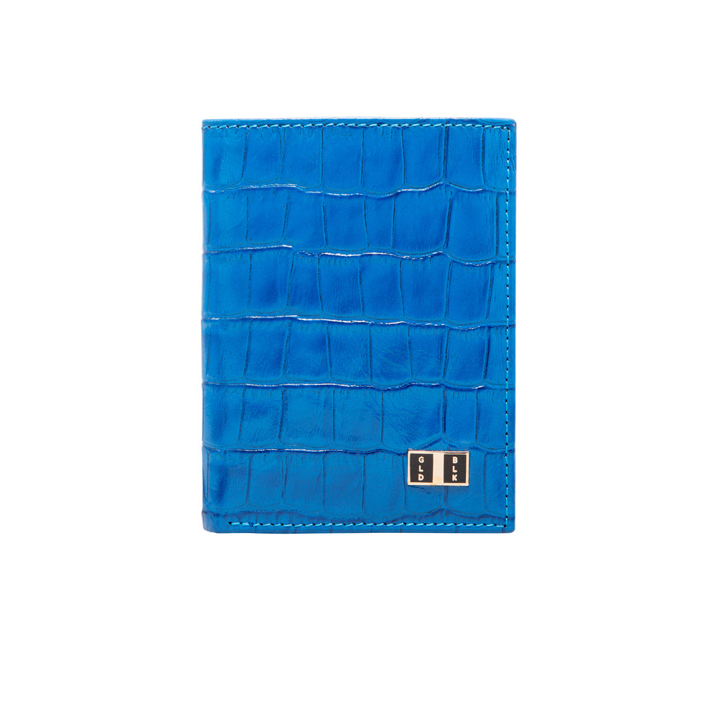 Croco Blue BIFOLD