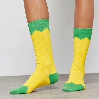 Pineapple Ice Cream Socks