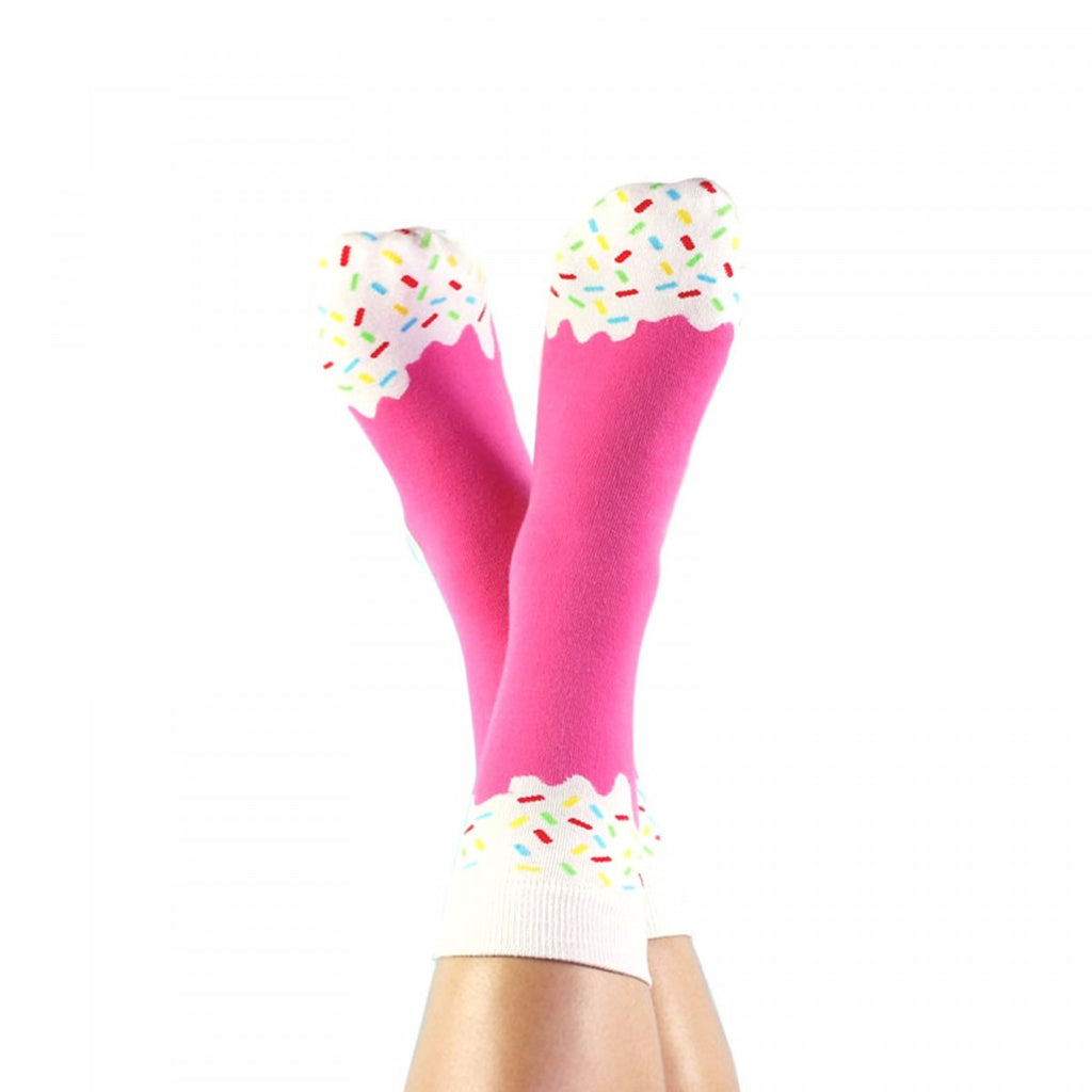 Strawberry Ice Cream Socks