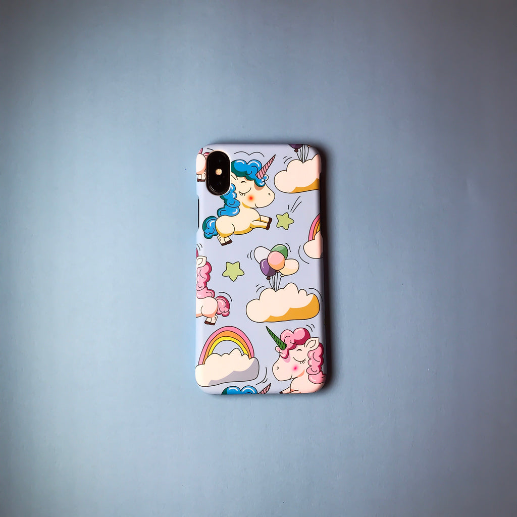 Blue Unicorns Fantasy Case