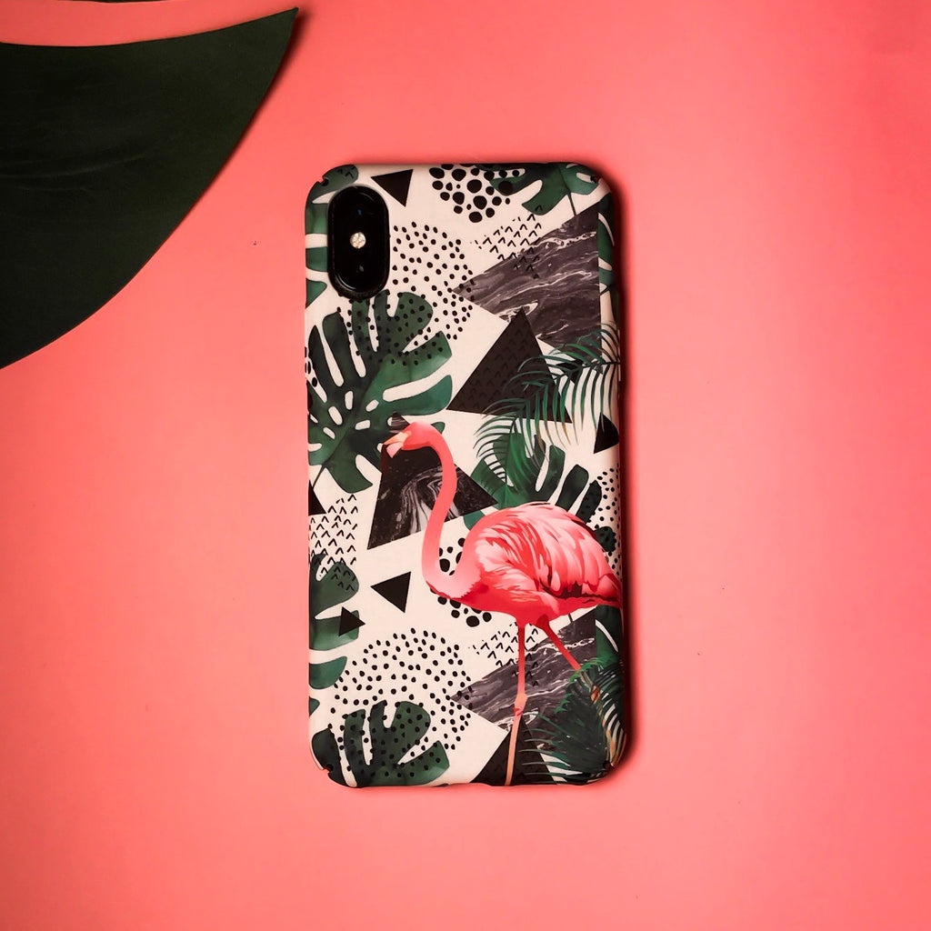 Flamingo Tropical Case