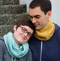 oats cowl tincanknits urth yarns harvest and monokrom worsted