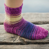 EVO Socks Pattern by Felicia Lo