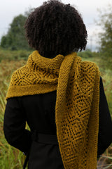 oaken shawl by tincanknits hit in harvest worsted