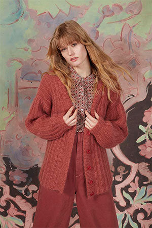 The Huge Honor Cardigan in the color 1084.0048