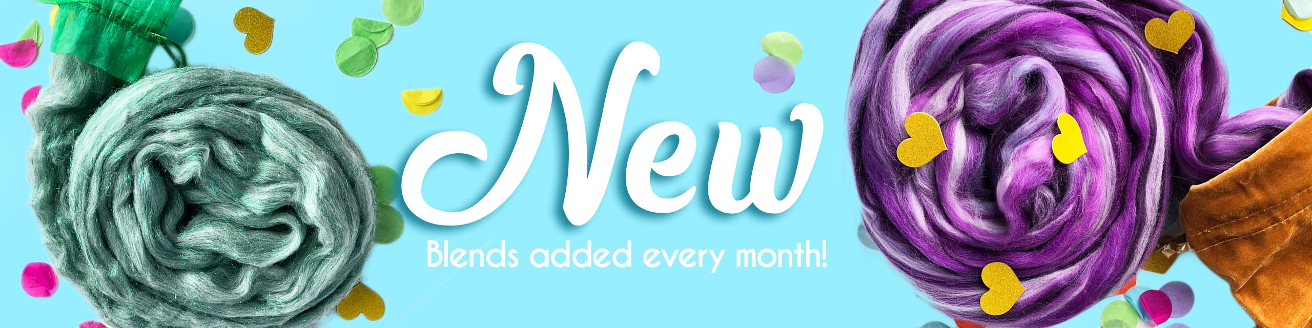 New Blends Added Every Month