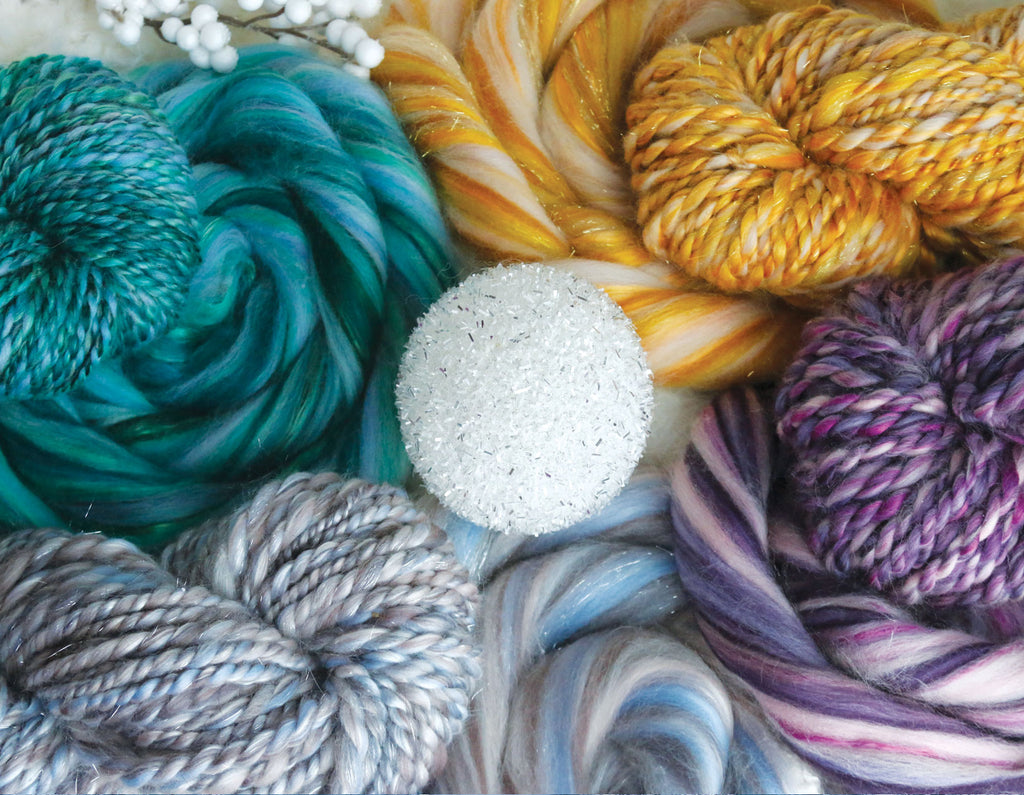 Newenia cashmere merino and silk fiber blends. Inspired by The Chronicles of Narnia