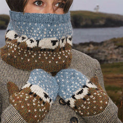 baable mittens and cowl kit