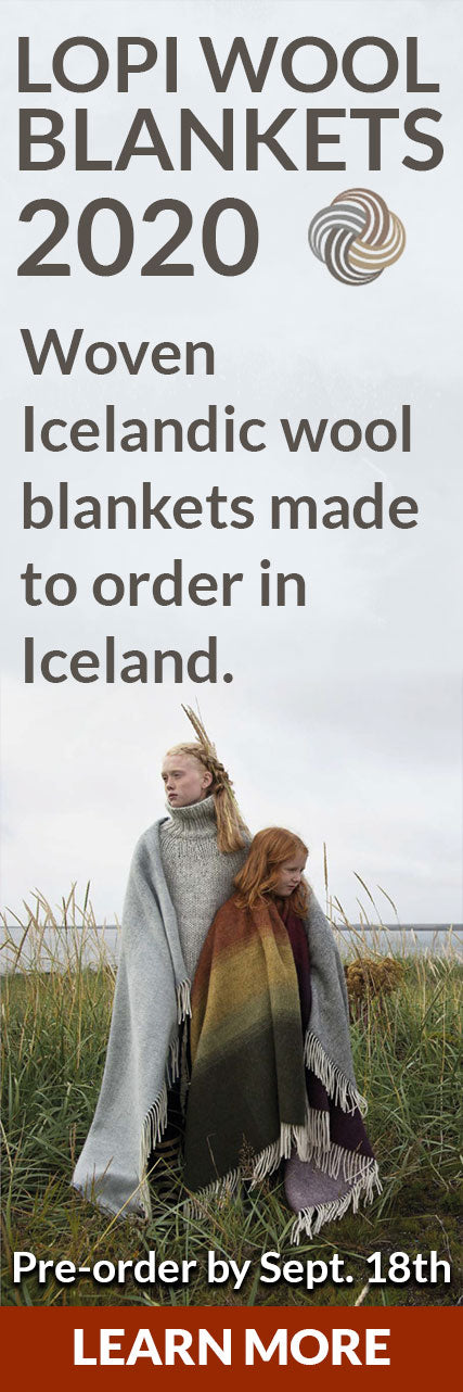 Pre-order your Lopi Wool Blanket by September 18th.
