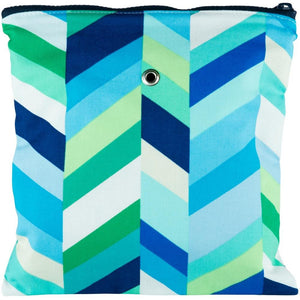 "Yarn POP Knitting Bags-Project Bag-Gadgety 9""X9""-Lagoon-"