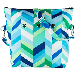 Yarn POP Knitting Bags-Project Bag-Oliver01-Lagoon-