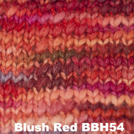Misti Alpaca Baby Me Boo Hand Painted Yarn Blush Red BBH54 - 9