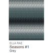 Ella Rae Seasons Yarn Grey #1 - 2