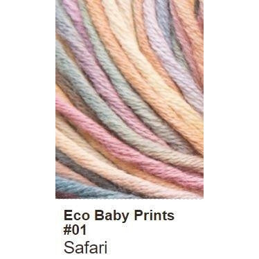 Debbie Bliss Eco Baby Yarn - Prints Safari 01 - 2