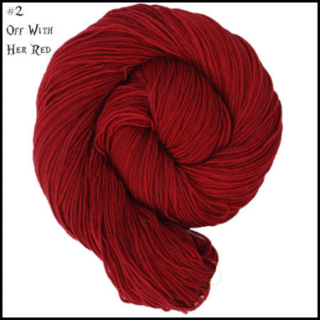 Wonderland Yarns - Cheshire Cat Off With Her Red 02 - 2