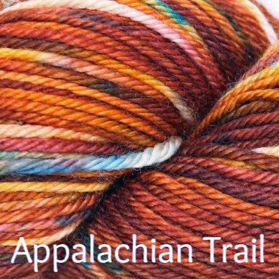 Three Irish Girls Springvale Worsted Yarn Appalachian Trail - 5