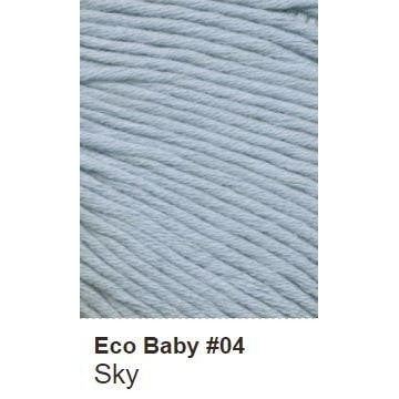 Debbie Bliss Eco Baby Yarn - Solids Sky 04 - 2