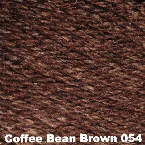 Elsebeth Lavold Designer's Choice Silky Wool Yarn Coffee Bean Brown 054 - 18