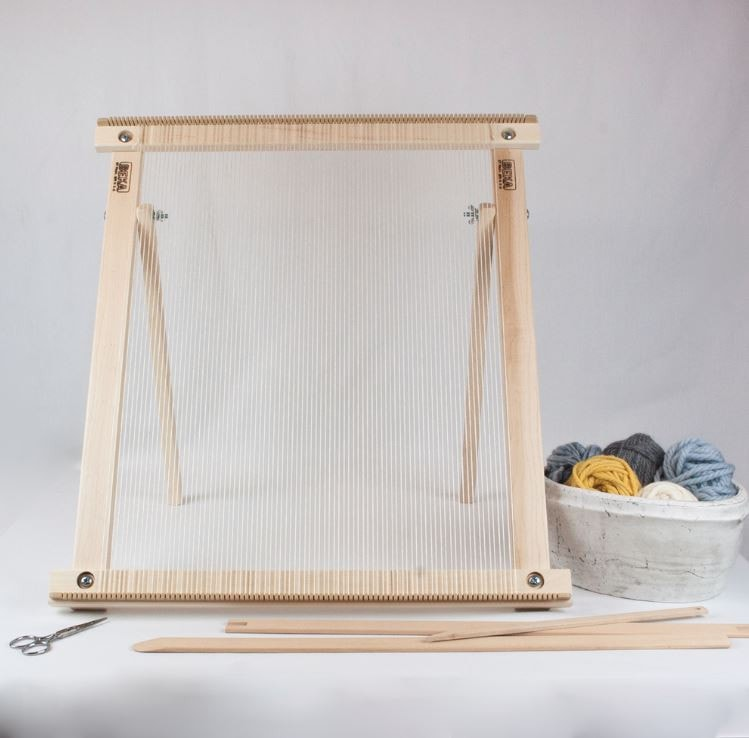 "Beka 20"" Weaving Frame With Stand - The Deluxe! (07006)  - 5"