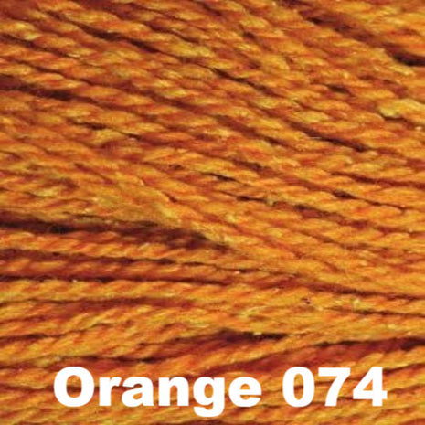 Elsebeth Lavold Designer's Choice Silky Wool Yarn Orange 074 - 30