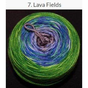 Done Roving Frolicking Feet Transitions Yarn Lava Fields 7 - 5
