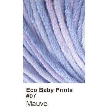 Debbie Bliss Eco Baby Yarn - Prints Mauve 07 - 8