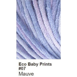Debbie Bliss Eco Baby Yarn - Prints-Yarn-Mauve 07-