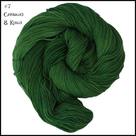 Wonderland Yarns - Cheshire Cat Cabbages & Kings 07 - 5