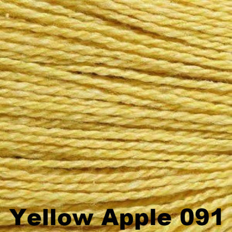 Elsebeth Lavold Designer's Choice Silky Wool Yarn Yellow Apple 091 - 35