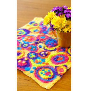 Artfelt Table Cover or Coasters Felting Kits
