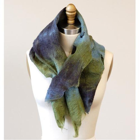 Artfelt Fringed Cowl Felting Kits