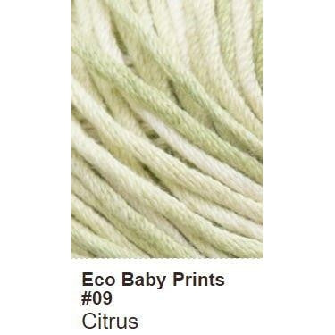 Debbie Bliss Eco Baby Yarn - Prints Citrus 09 - 10