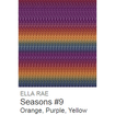 Ella Rae Seasons Yarn Orange/Purple/Yellow #9 - 3
