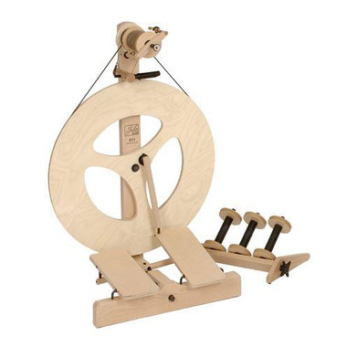 Louet S10 Concept Spinning Wheel - Scotch Tension, Double Treadle-Spinning Wheel-Paradise Fibers