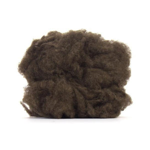 Paradise Fibers 100% De-Haired YAK Down-Fiber-Dark Brown-4oz-