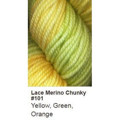 Ella Rae Lace Merino Chunky Yarn Yellow, Green, Orange 101 - 31