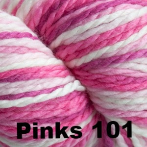 Cascade 128 Superwash Multis Yarn Pinks 101 - 12