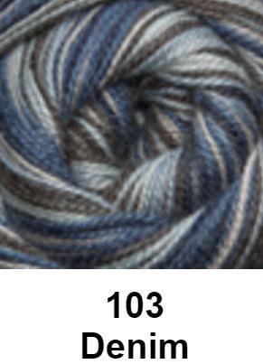 Cascade Forest Hills Yarn - Multis Denim 103 - 4