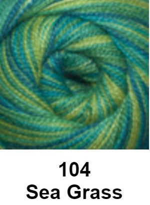 Cascade Forest Hills Yarn - Multis Sea Grass 104 - 5