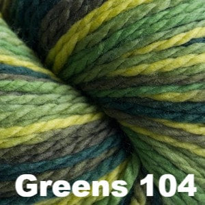 Cascade 128 Superwash Multis Yarn Greens 104 - 11