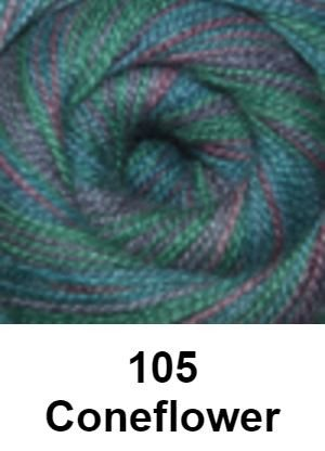 Cascade Forest Hills Yarn - Multis Coneflower 105 - 6