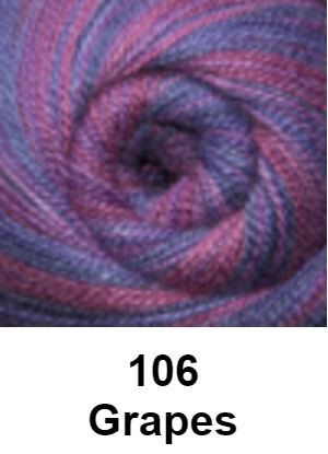 Cascade Forest Hills Yarn - Multis Grapes 106 - 7