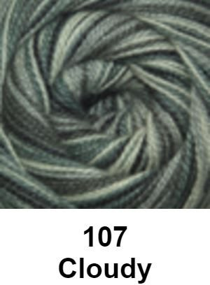 Cascade Forest Hills Yarn - Multis Cloudy 107 - 8