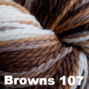 Cascade 128 Superwash Multis Yarn Browns 107 - 8