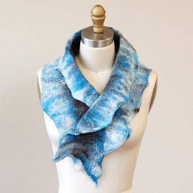 Artfelt Ruffled Cowl Felting Kits
