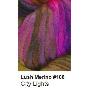Ella Rae Lush Merino Yarn City Lights 108 - 17