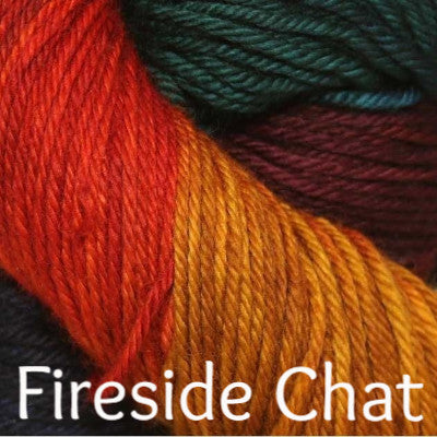 Three Irish Girls Springvale Worsted Yarn Fireside Chat - 10